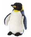 Koningspinguin knuffelbeest 28 cm