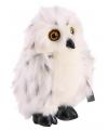 Witte Sneeuwuil knuffel 20 cm